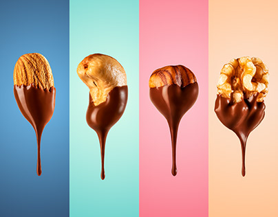 Chestnuts in chocolate
