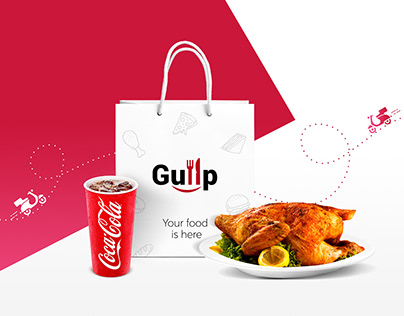 Gullp- Food Ordering Website