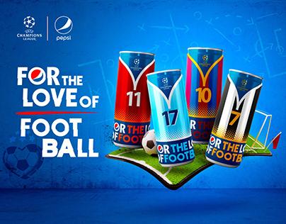 Pepsi & UEFA CHAMPIONS LEAGUE 2019