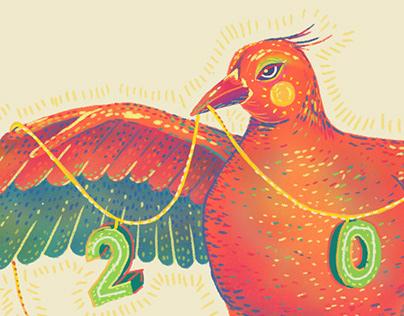 Bird. Happy 2019!