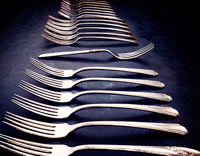 A Study of Vintage Silver Forks