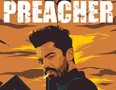 Preacher - alternative poster