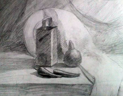 Рисунок. Натюрморты.