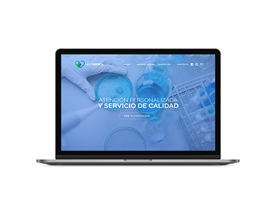 Maximedica - Wordpress Site