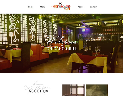 Website development services for a restaurant