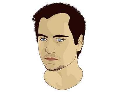 Matt Philpotts: self portrait