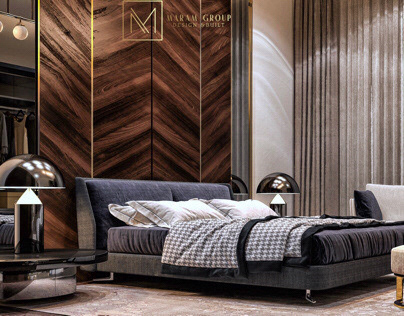 Luxurious Master Bedroom | Kuwait