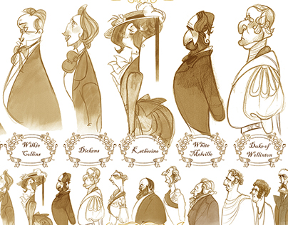 Dickens - Animation Character Design and Story