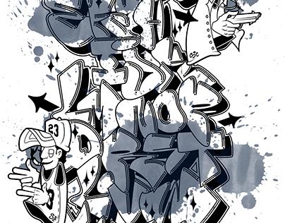 GRAFFITILETRAS