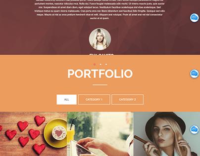 Tomi Solas WordPress Website