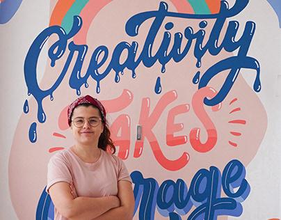 Domestika | Creativity Mural