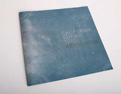 California Guitar Trip - Andromeda — vinyl record desig