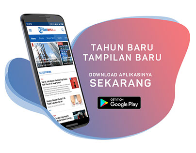 Creative Ads - Web Banner Tribunnews Ad House for Apps