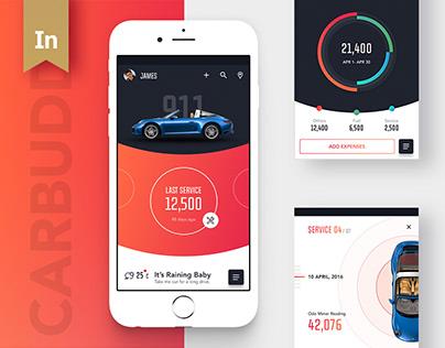Carbuddy — Material App • v 2.0