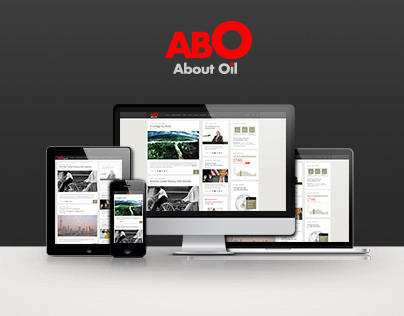 Abo Oil - Web Magazine / Concept Redesign
