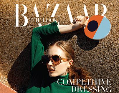 """HARPER'S BAZAAR ARABIA """"The Look"""""""