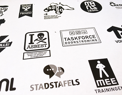 A selection of logo designs