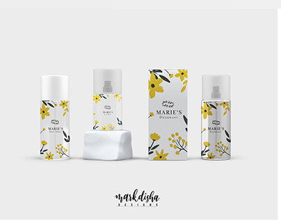 Marie's Cosmetic Package Design