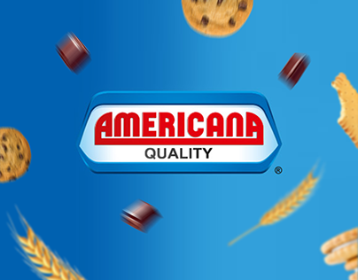 Americana Cake | Social Media Designs