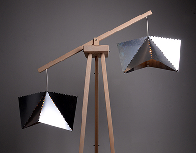 floor lamp Alu