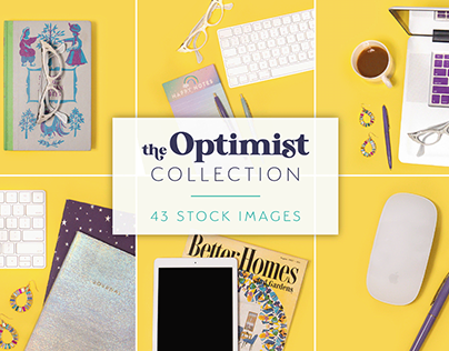 The Optimist Stock Photo Collection