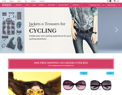 ENZO - Shopify Multi Purpose theme