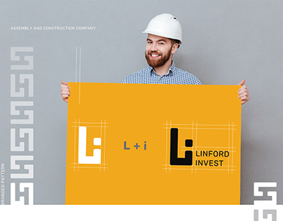 Linford invest. vol 3. Logo & identity.