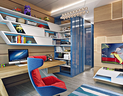 modern bedroom design for a teenager
