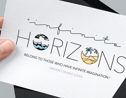 """Horizons"" Greeting Cards"