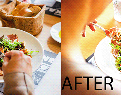 Created Color Correction in Photoshop