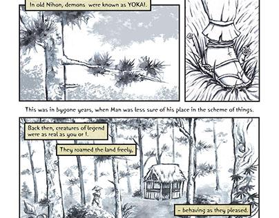 Yokai Forest (comic)