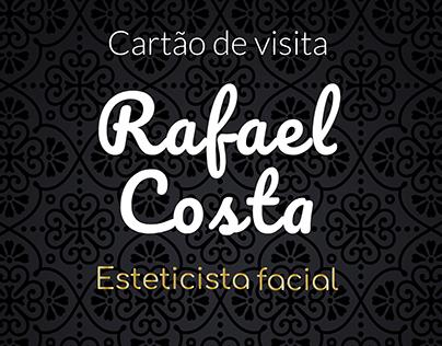 Cartão de visita, esteticista facial