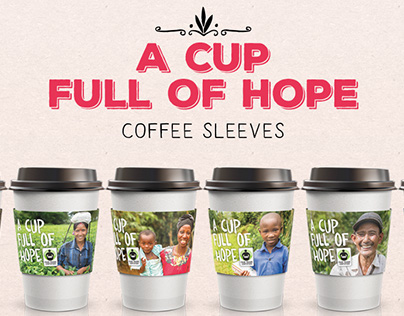 A Cup Full of Hope Cup Sleeves