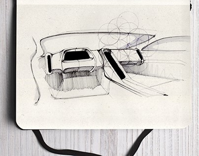 Interior Study Sketches