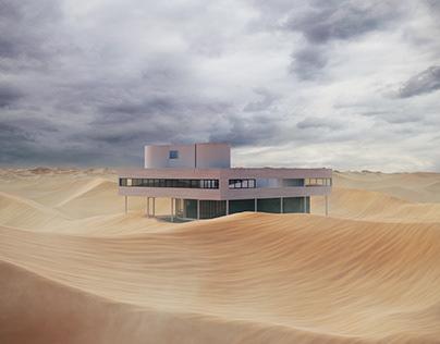 CGI - Savoye on Desert