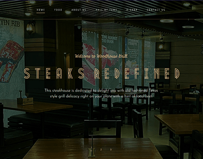 Woodhouse Grill - Restaurant Website