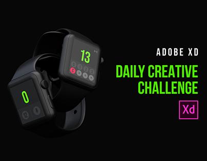 Apple Watch Calculator   XD Creative Challenge