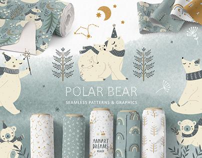 Polar Bear. Winter Collection