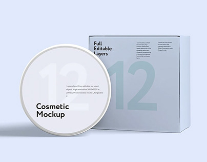 Free* Cosmetic Mockup