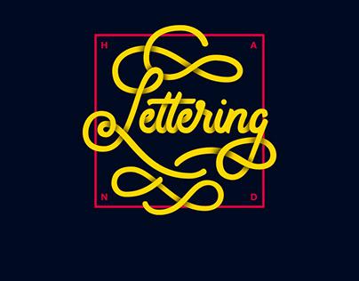 VOL. I | Hand Lettering