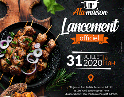 Restaurant Cover Design
