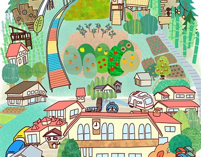 幼稚園マップ