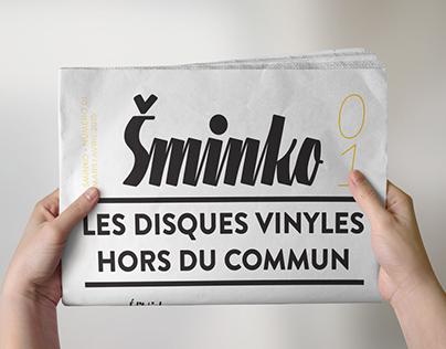 Šminko - Newspaper student work