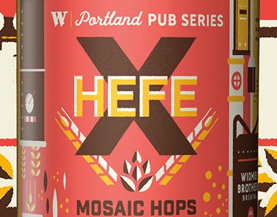 Widmer Portland Pub Series Hefe X