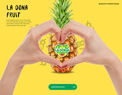 La Dona Fruit Website