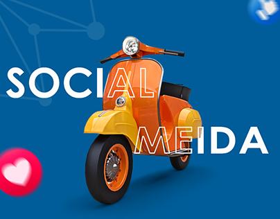 Social Media Haogin Motorcycle