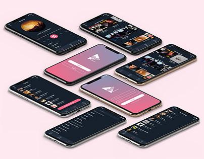 MusicSpotted App UI/UX Design