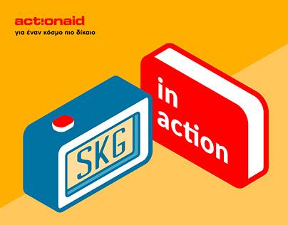 SKG in action - Visual Identity Design