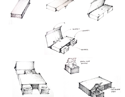 Box for samples idea