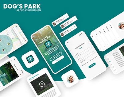 Dog's Park Ui Design
